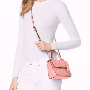 Michael Kors Small Qulited Crossbody